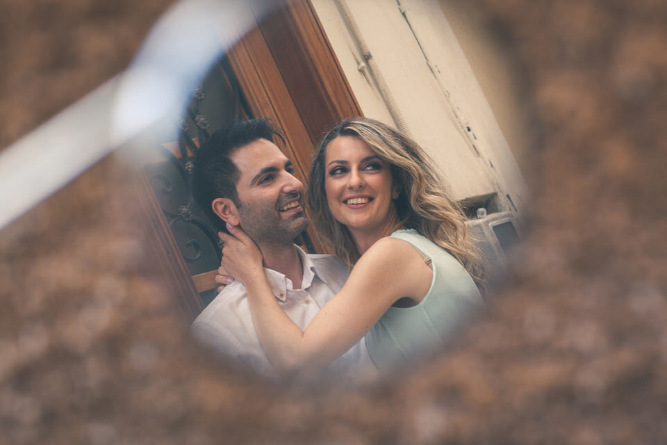 Engagement photo shoot in Nafplio